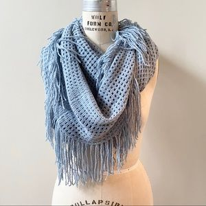 D&Y Infinity Fringe Scarf